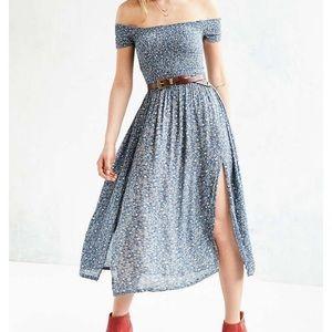 UO Kimchi Blue picnic smock dress